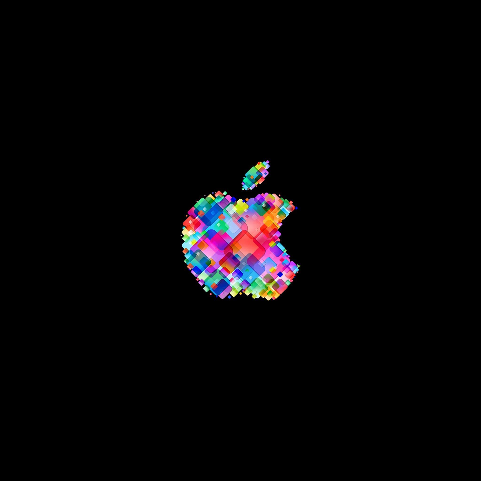 iPad Wallpapers Funky apple logo 3 Apple iPad iPad 2 iPad mini 2048x2048