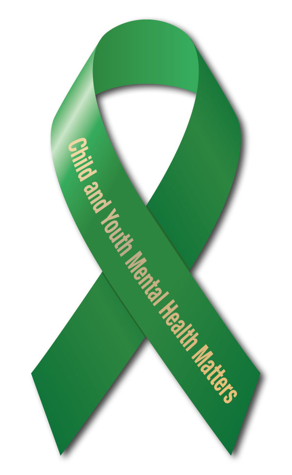Mental Health Awareness Ribbon Child and Youth Mental Health 600x975