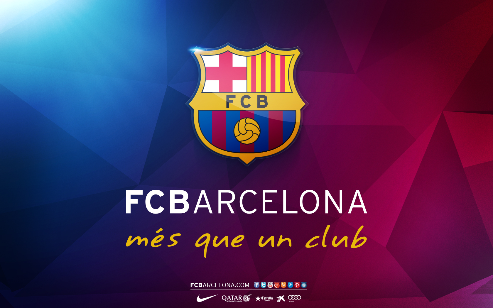 FunMozar Fc Barcelona Team Wallpapers 1680x1050