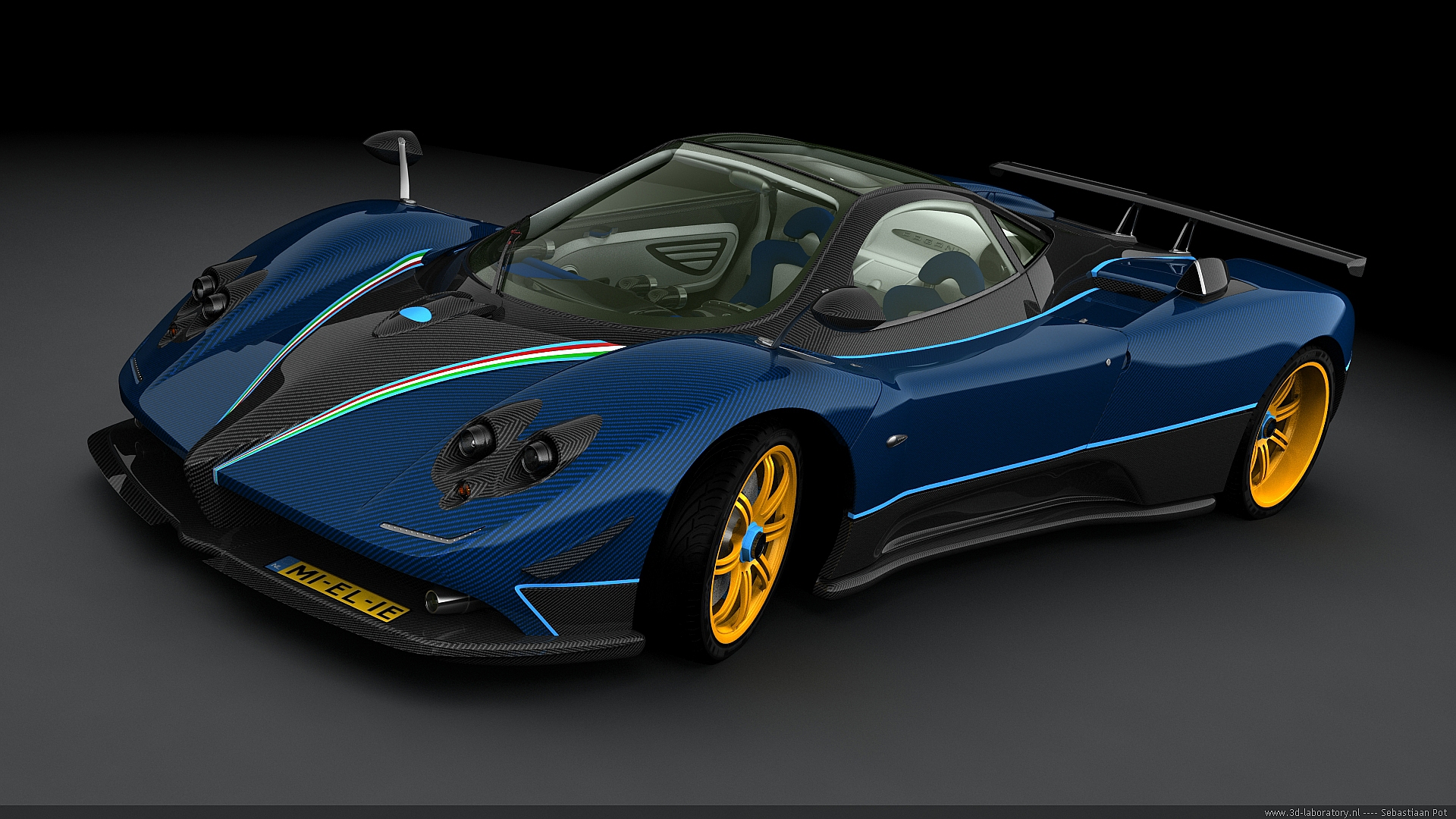 Pagani Zonda   28 Incredible Desktop Background Wallpapers Collection 1920x1080