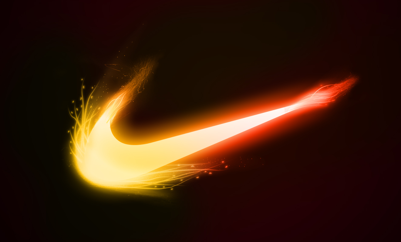 Wallpapers For Green Nike Logo Wallpaper 1322x799