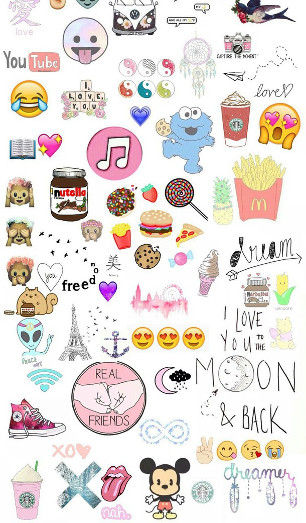 Cute Emoji Wallpaper for Pinterest 610x1041