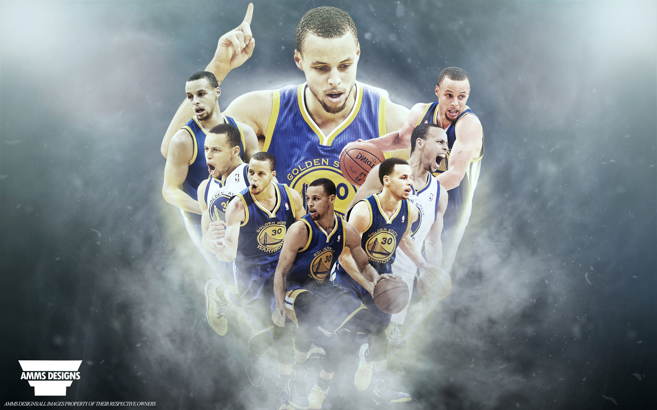 Stephen Curry 2014 2015 NBA MVP Wallpaper Basketball 2560x1600