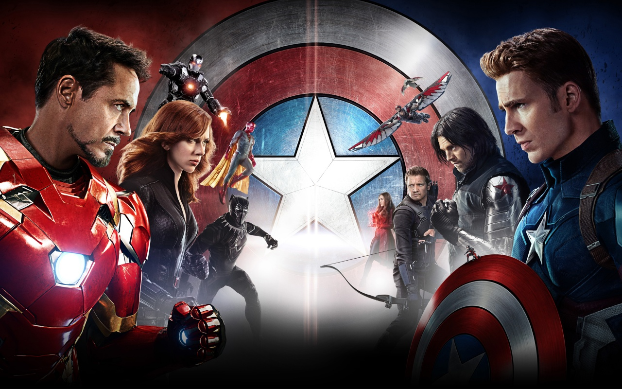 Captain America Civil War 5K HD Wallpapers HD Wallpapers 1280x800
