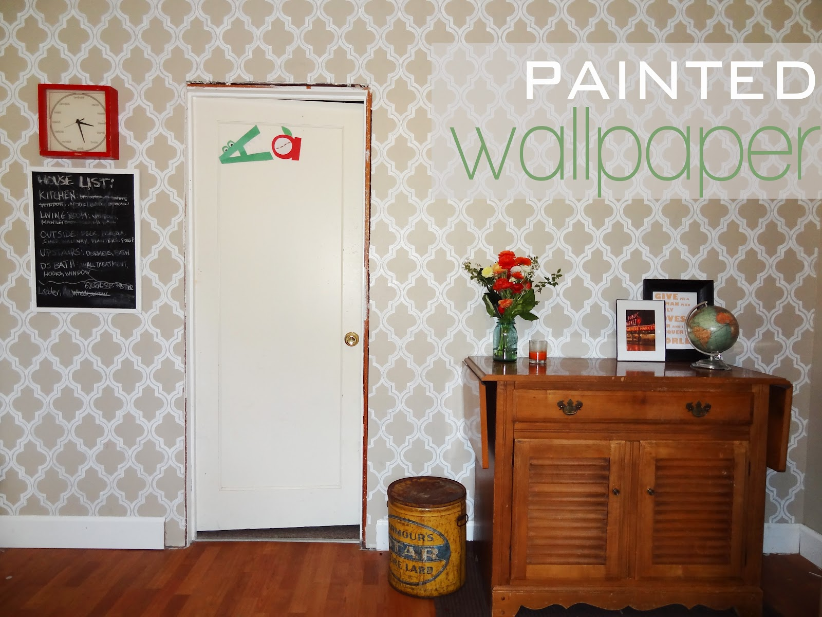 Revamp Homegoods House to Home Is That Painted Wallpaper Or Are You 1600x1200