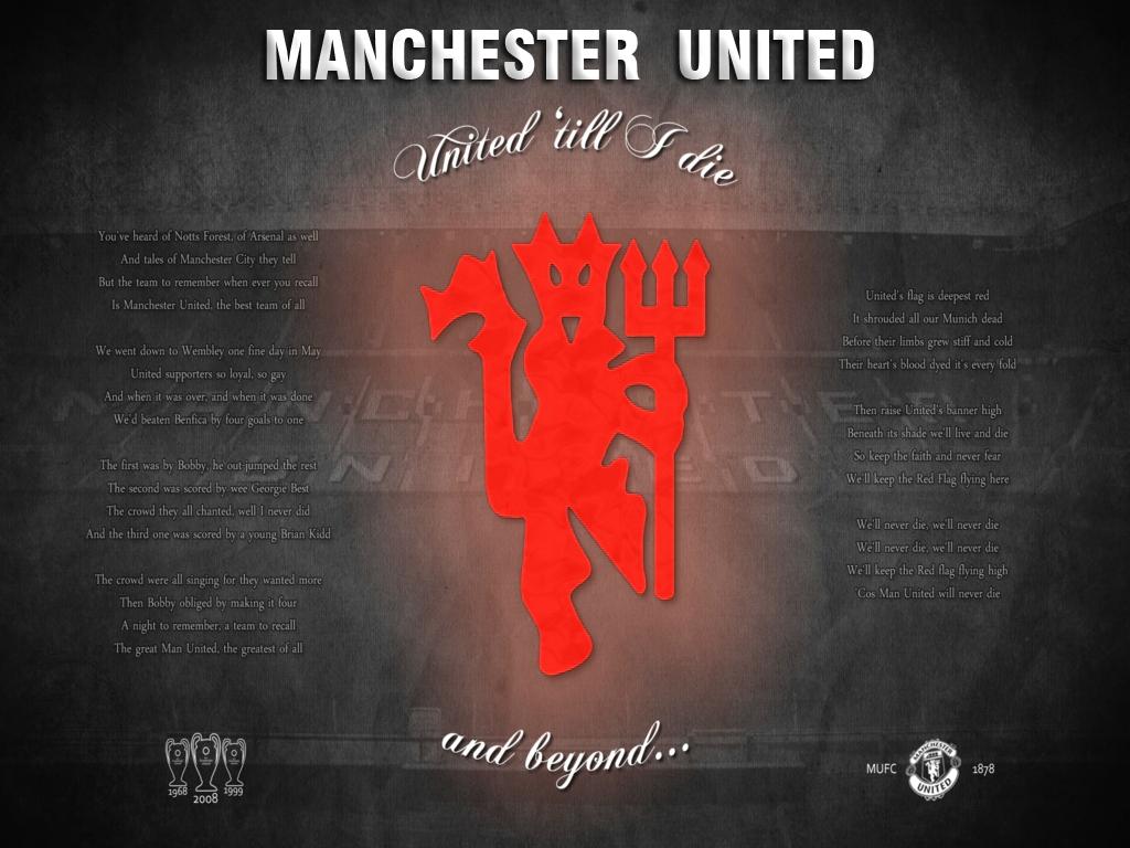 Manchester United Red Devil Wallpaper 1024x768