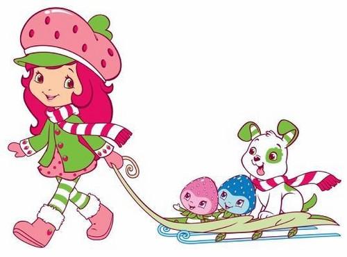 Strawberry Shortcake images Strawberry Shortcake Snow Fun wallpaper 500x370