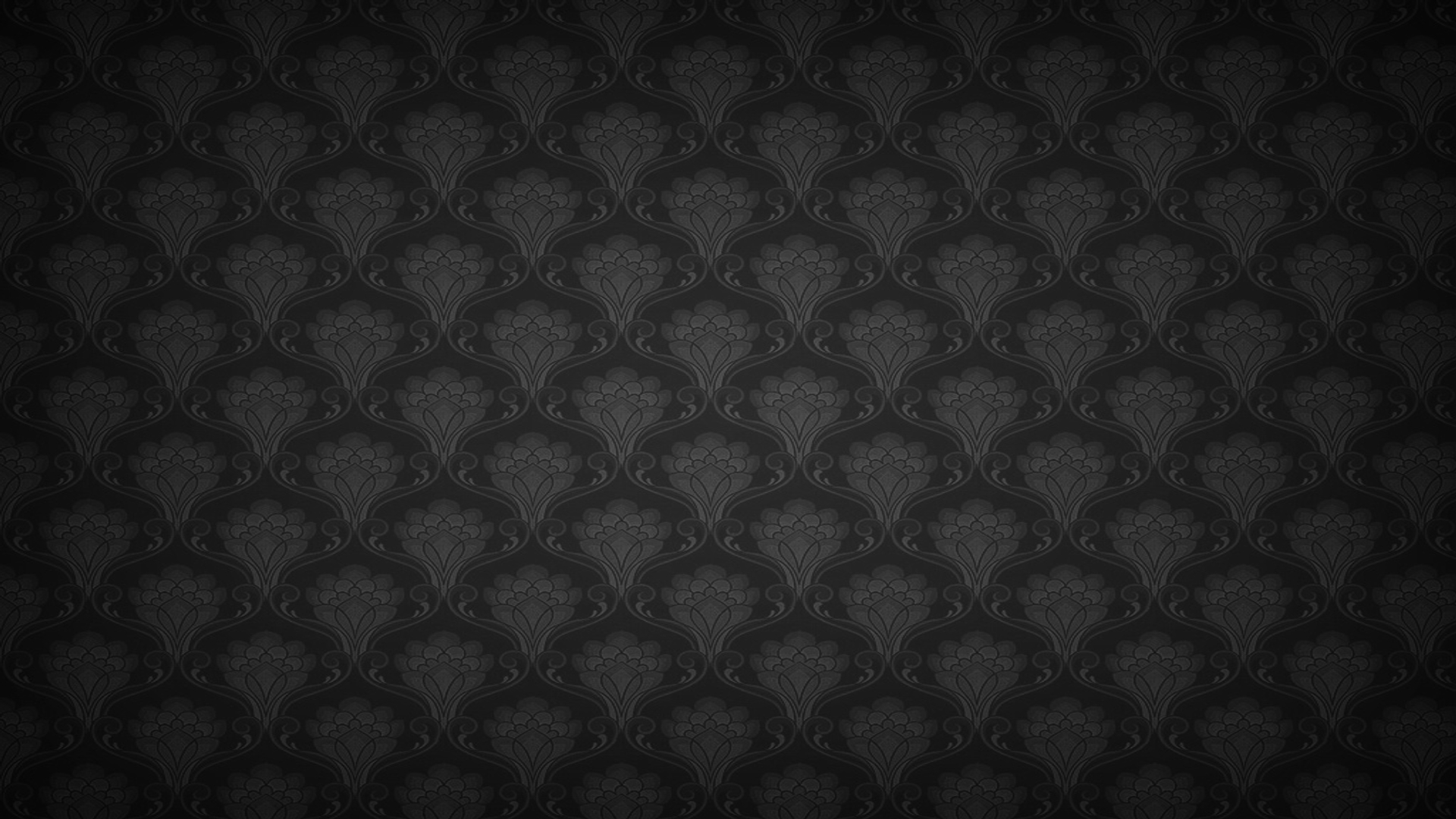 Black Floral Wallpaper 1920x1080