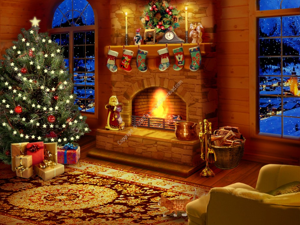 Fireplace Design fireplace screensaver : Mary Engelbreit Screensavers Wallpapers - WallpaperSafari
