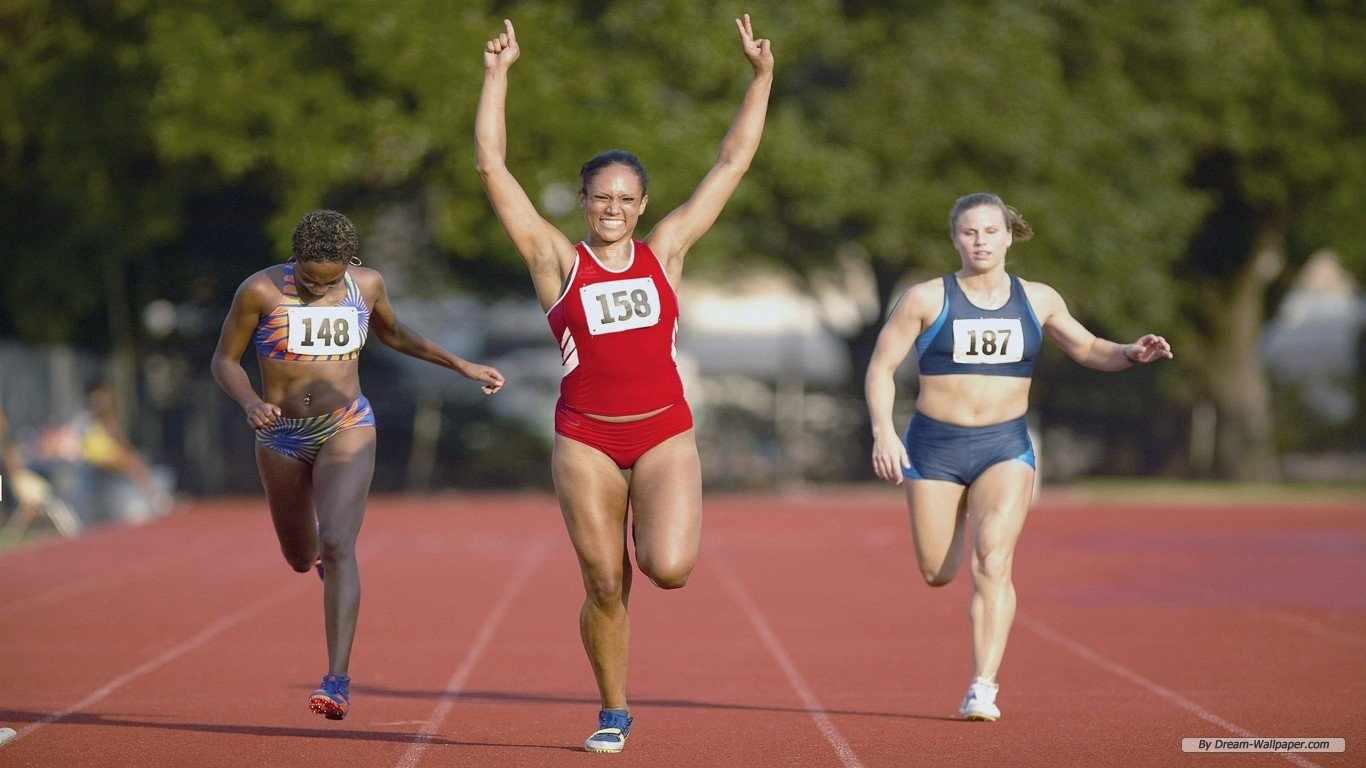 Track And Field Athletics 1366x768