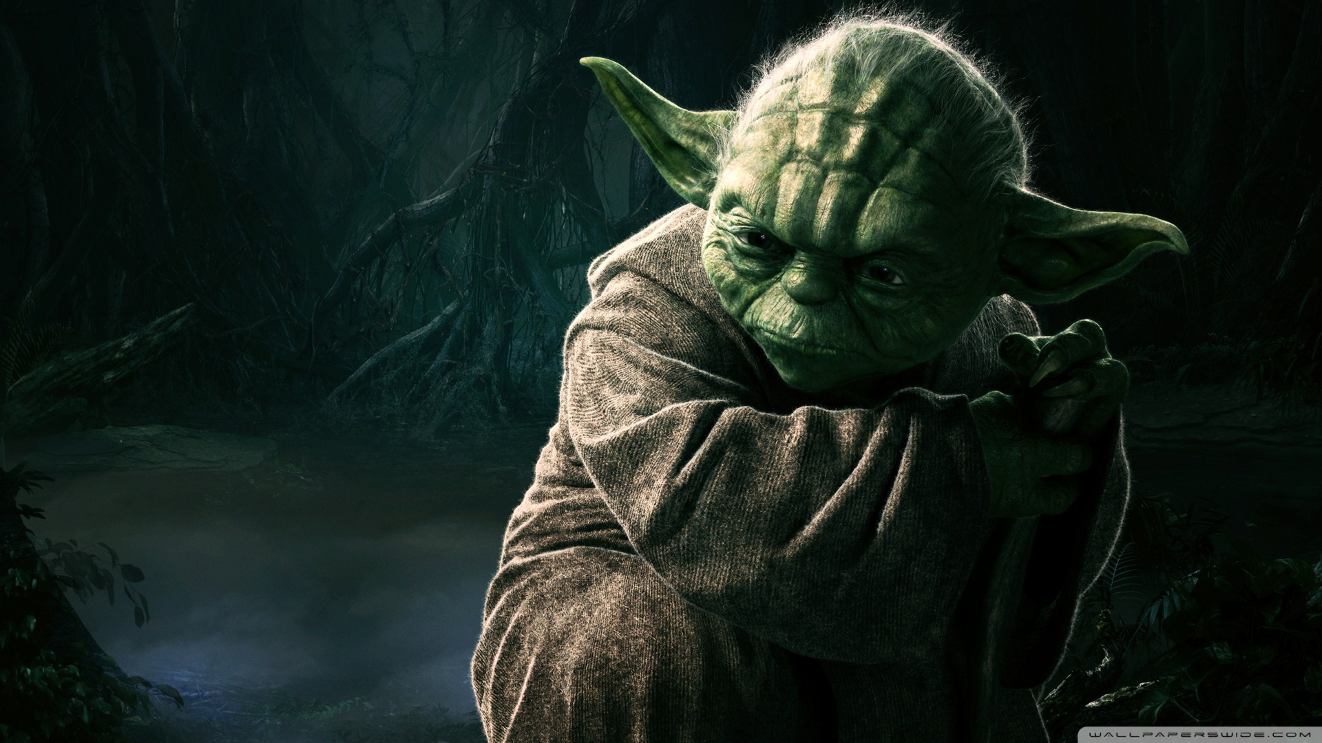 Star Wars Yoda Jedi Master 1920x1080 HD Wallpaper Movies 1920x1080
