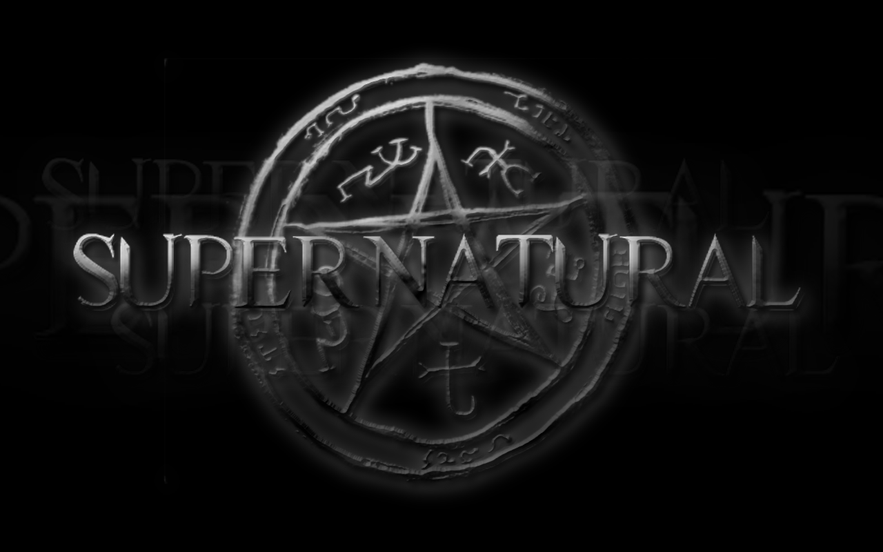 Supernatural Logo by iclethea 1280x800