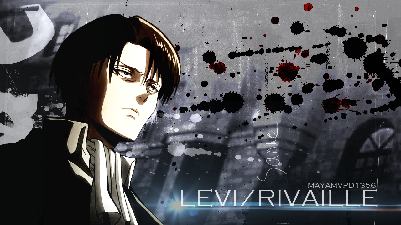 LeviRivaille [SNK] Wallpaper by MayAMVPD1356 1280x720