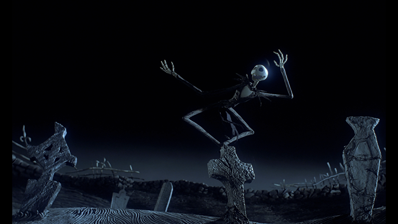 Download Jack Skellington   The Nightmare Before Christmas wallpaper 1365x768
