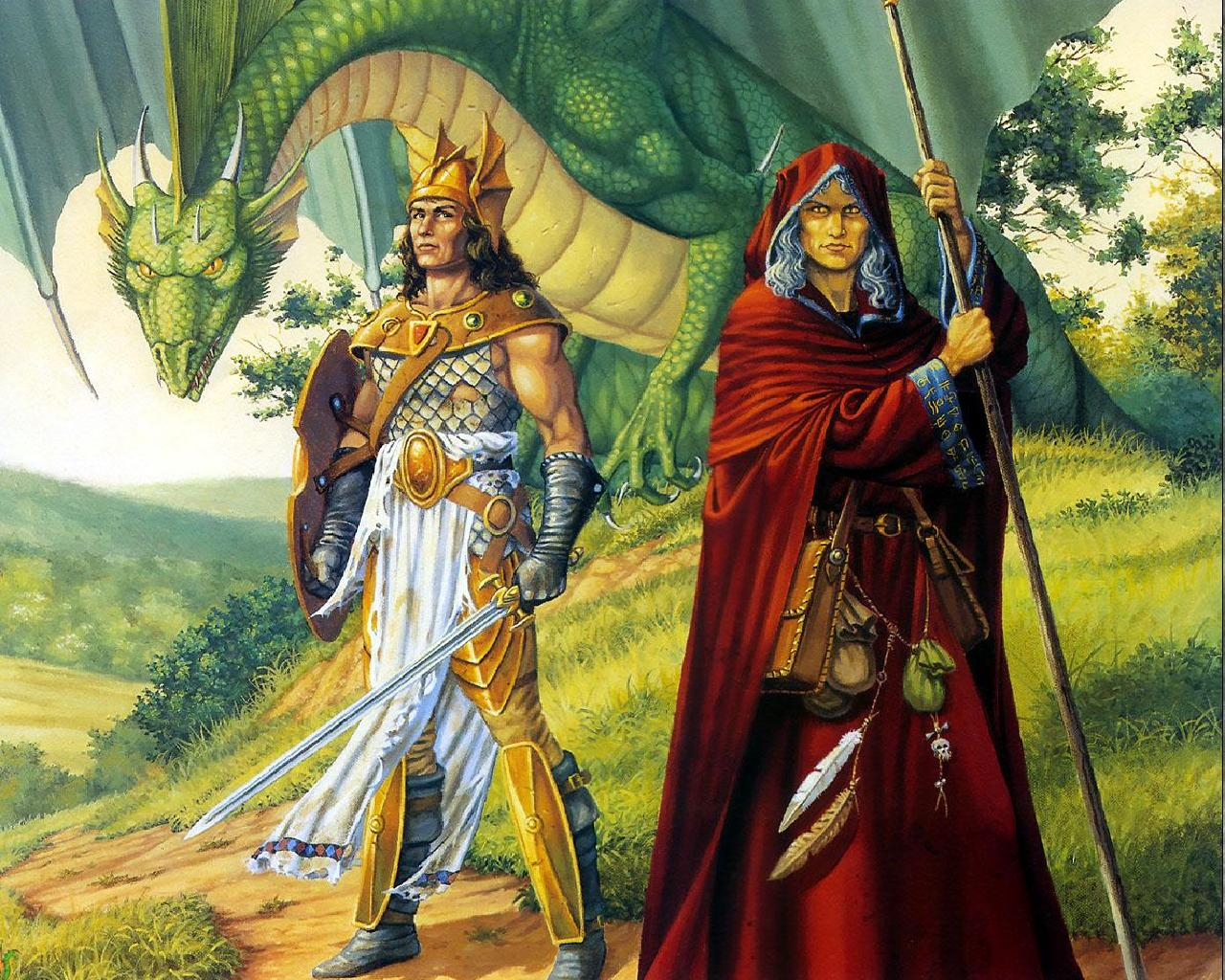 DragonlanceDragons of Spring Dawning wallpaper   ForWallpapercom 1280x1024