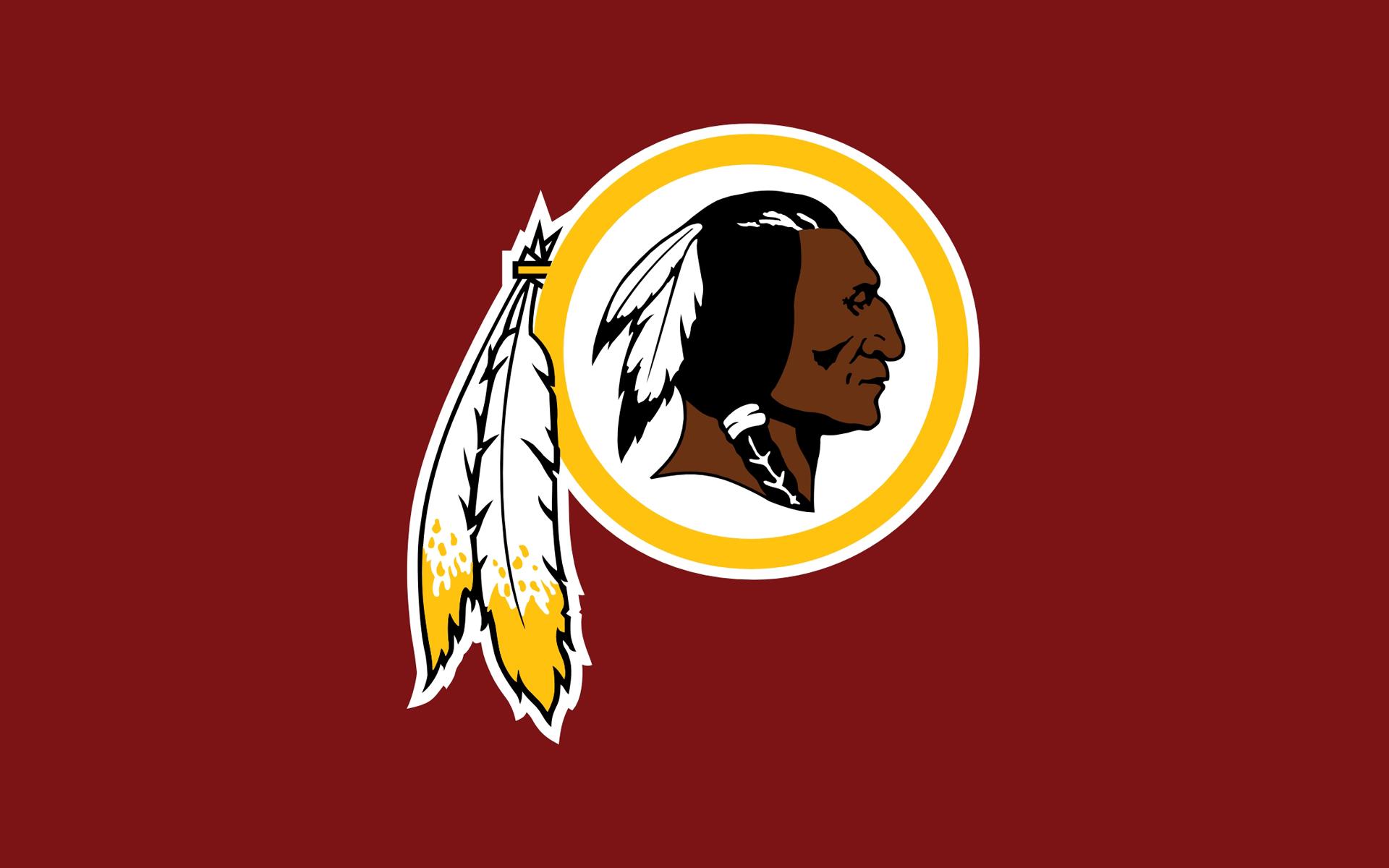 Washington Redskins flag logo 1920x1200