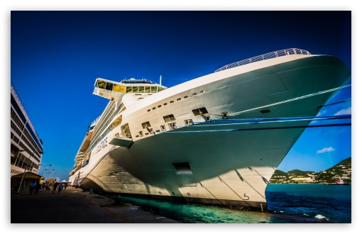 Cruise Ship HD wallpaper for Standard 43 54 Fullscreen UXGA XGA SVGA 510x330