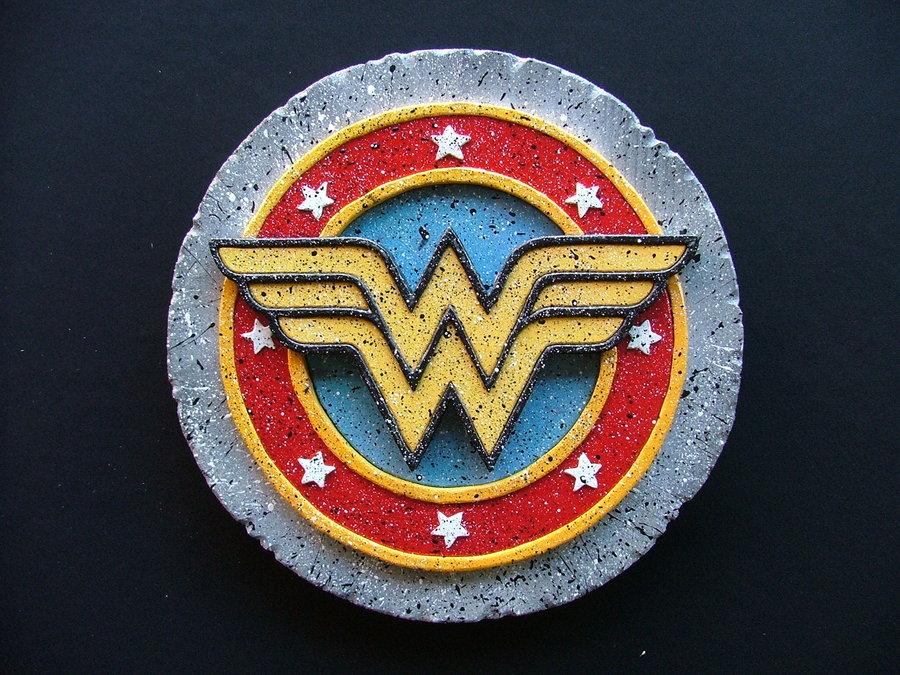 Wonder Woman Logo Wallpaper Wonder woman logo by ramageart 900x675