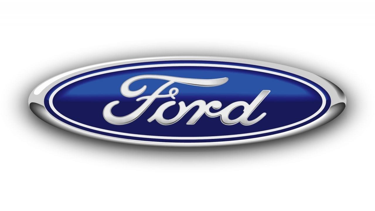 ford logo wallpaper 1280x720