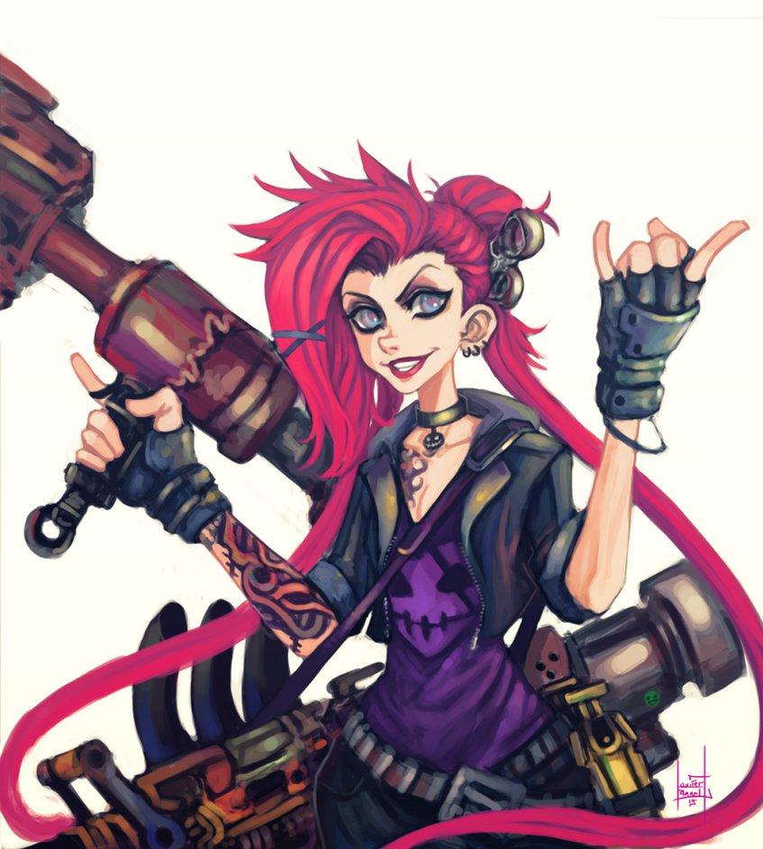 Slayer Jinx by xluxifer 847x943