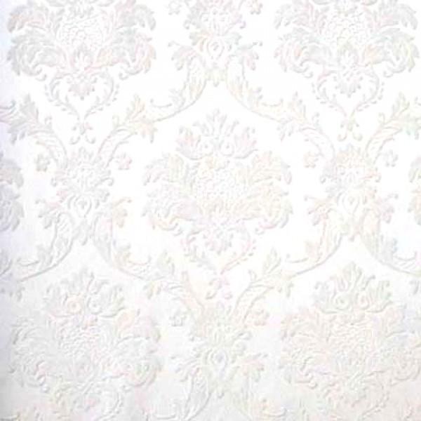 Whites Damask Wallpaper   Wallpaper Brokers Melbourne Australia 600x600