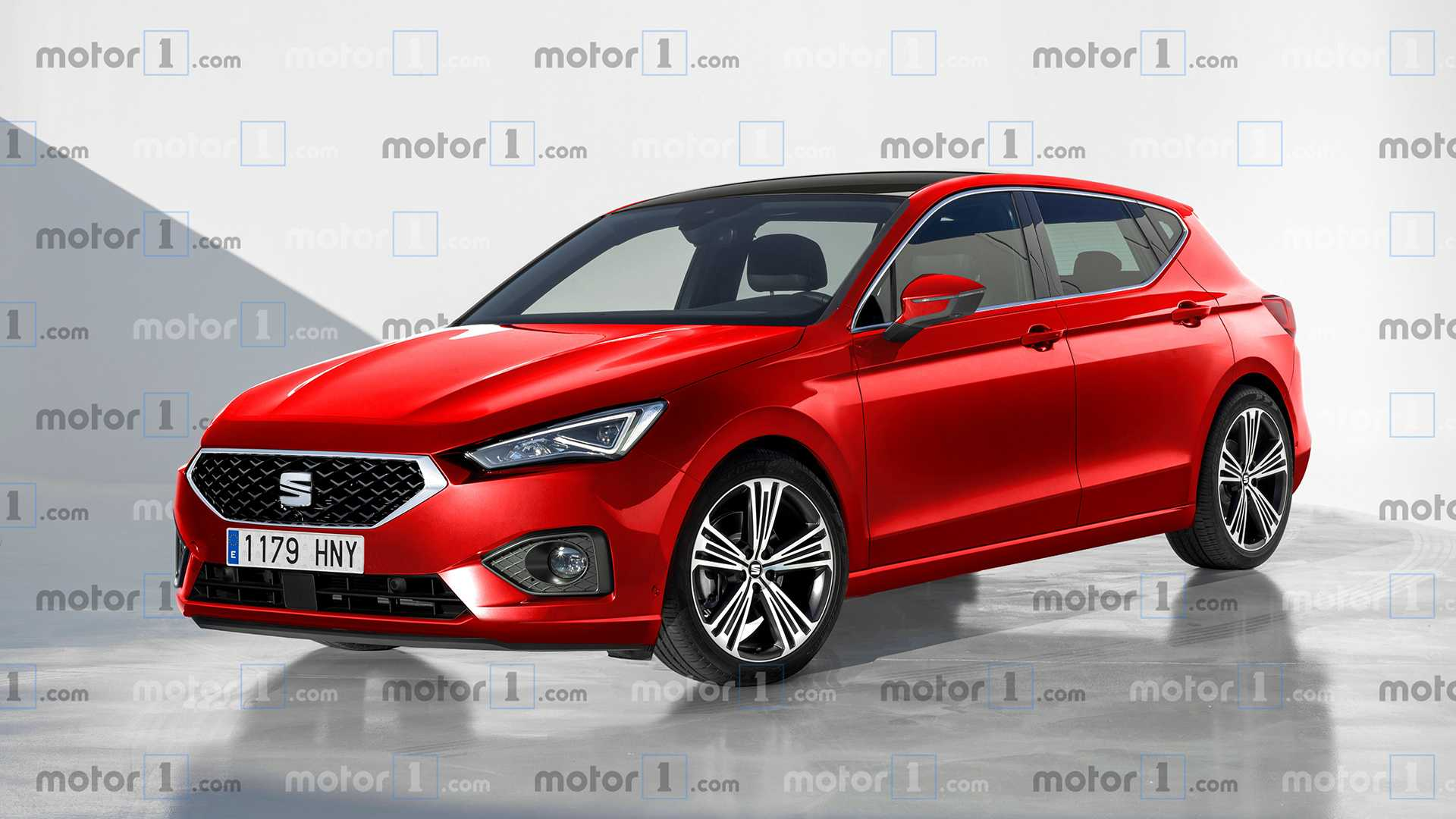 2020 SEAT Leon Rendering Sees Into The Future 1920x1080