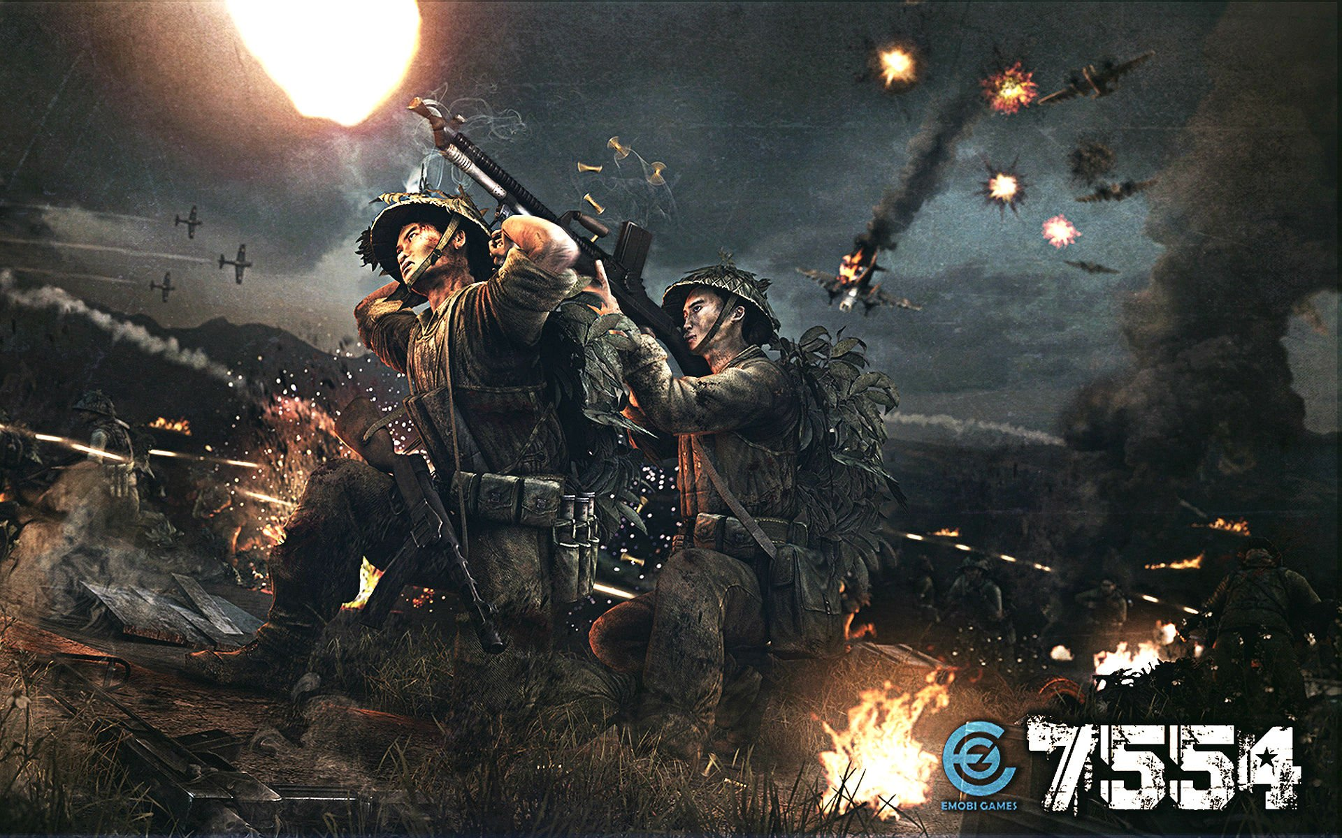 military action fighting war vietnam combat battle poster wallpaper 1920x1200