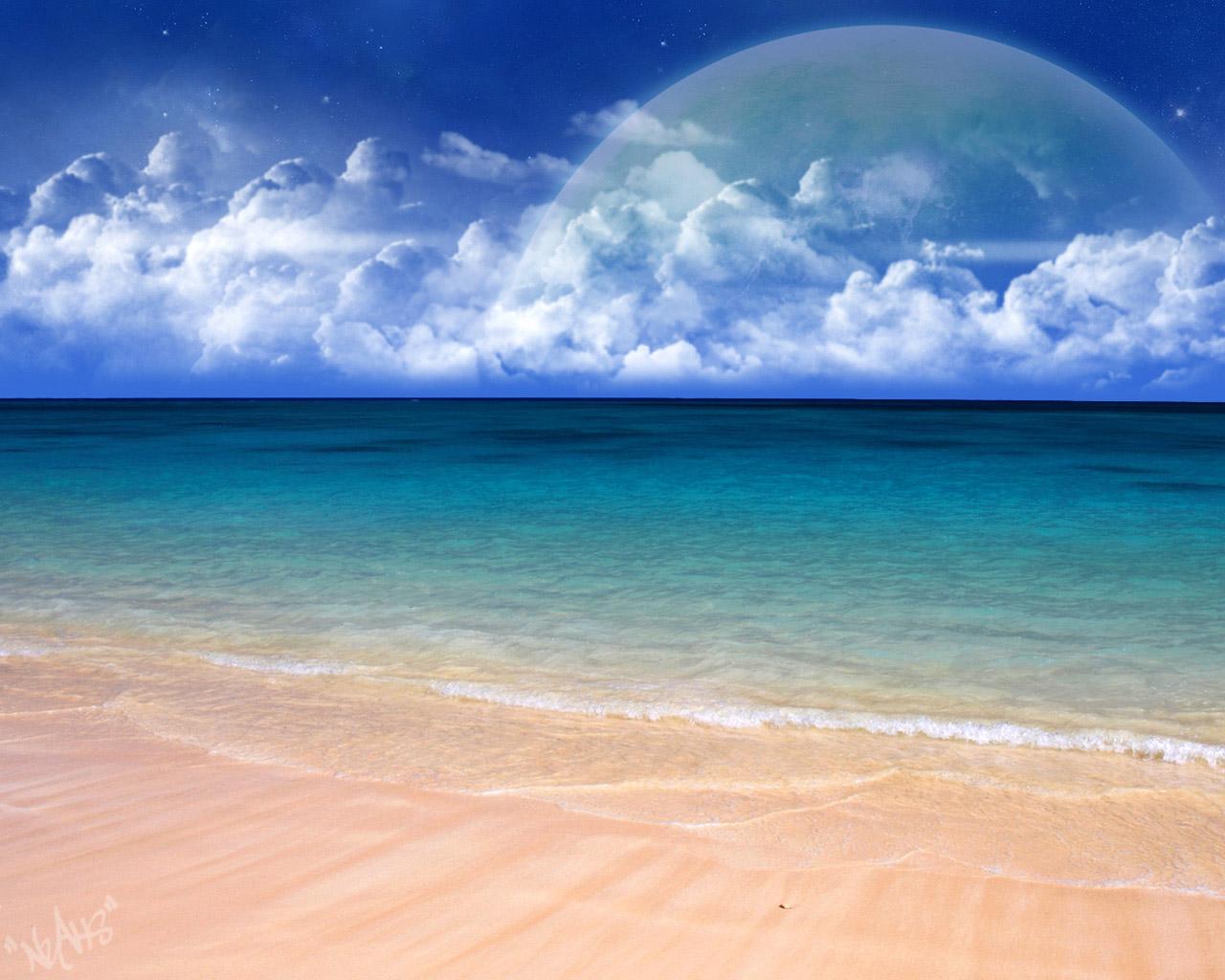 Clean Sea Water Wallpapers   HD Wallpapers 24613 1280x1024
