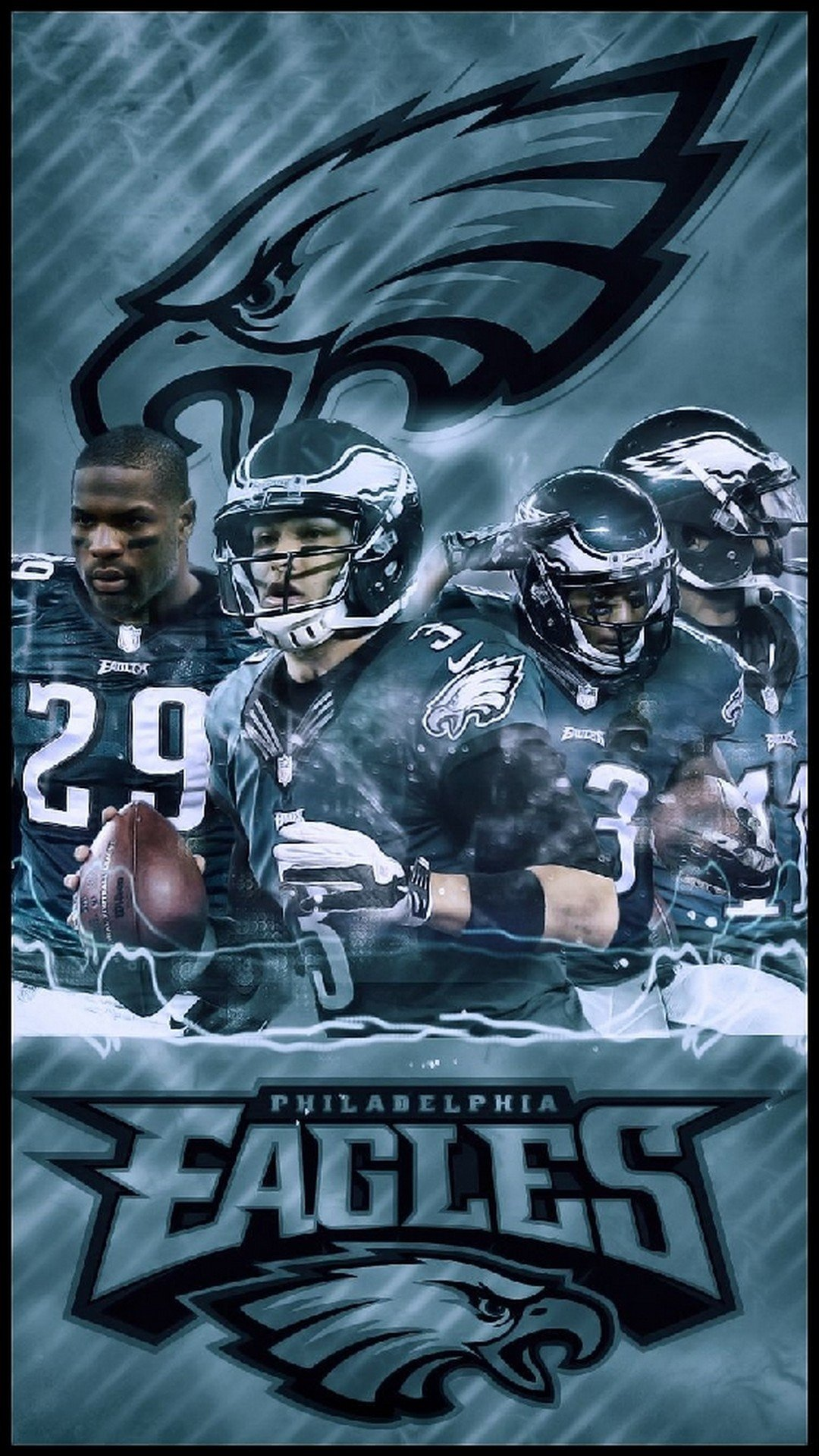 iPhone Wallpaper HD The Eagles 2020 NFL Football Wallpapers 1080x1920