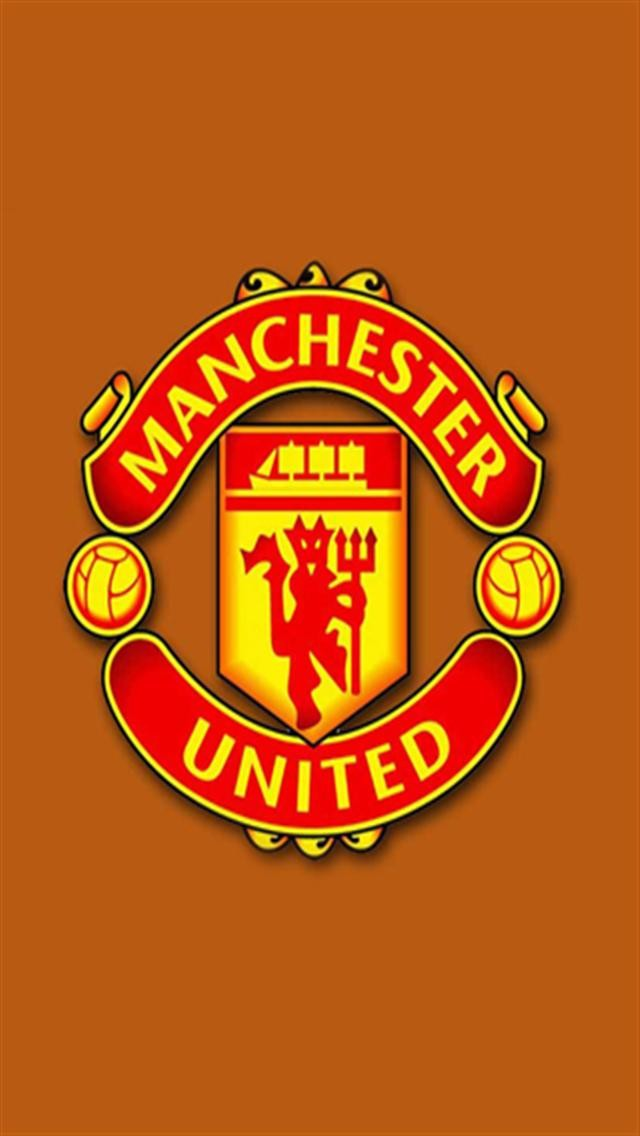 Manchester United 2 LOGO iPhone Wallpapers iPhone 5 s 4 s 3G 640x1136