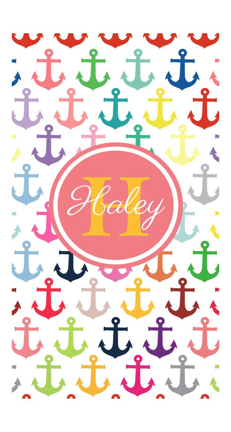 Names Anybody name Haley Names in 2019 Art Keep calm Monogram 744x1390