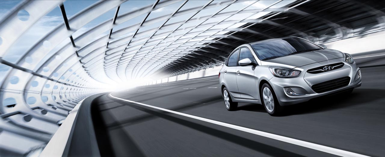 Hyundai Accent Desktop Backgrounds 1280x521