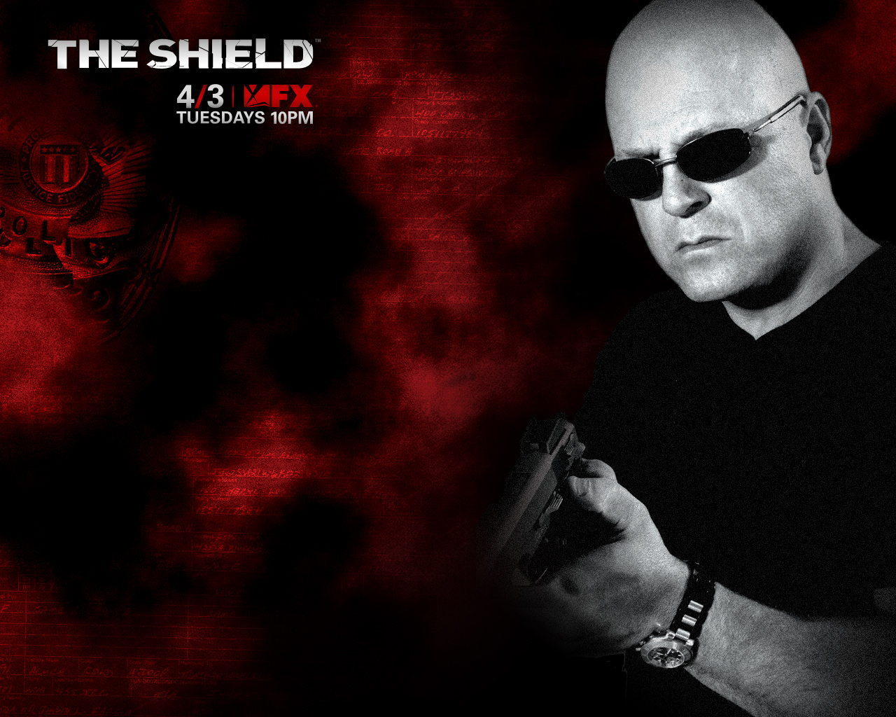 The Shield   The Shield Wallpaper 2965895 1280x1024