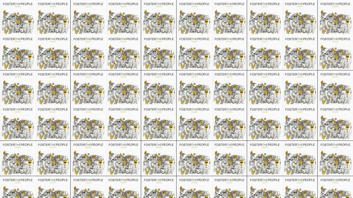 Foster People Torches Wallpaper Tiled Desktop Wallpaper 1366x768