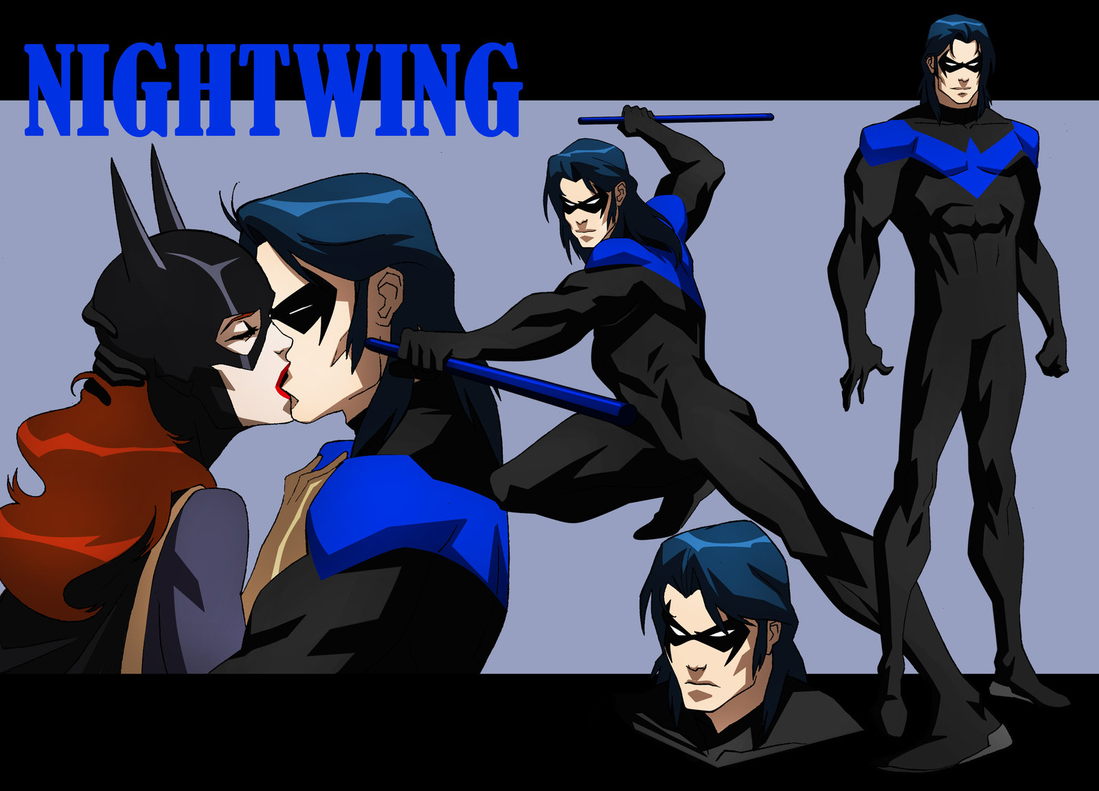 Showing pictures for Young Justice Nightwing Wallpaper 1600x1152