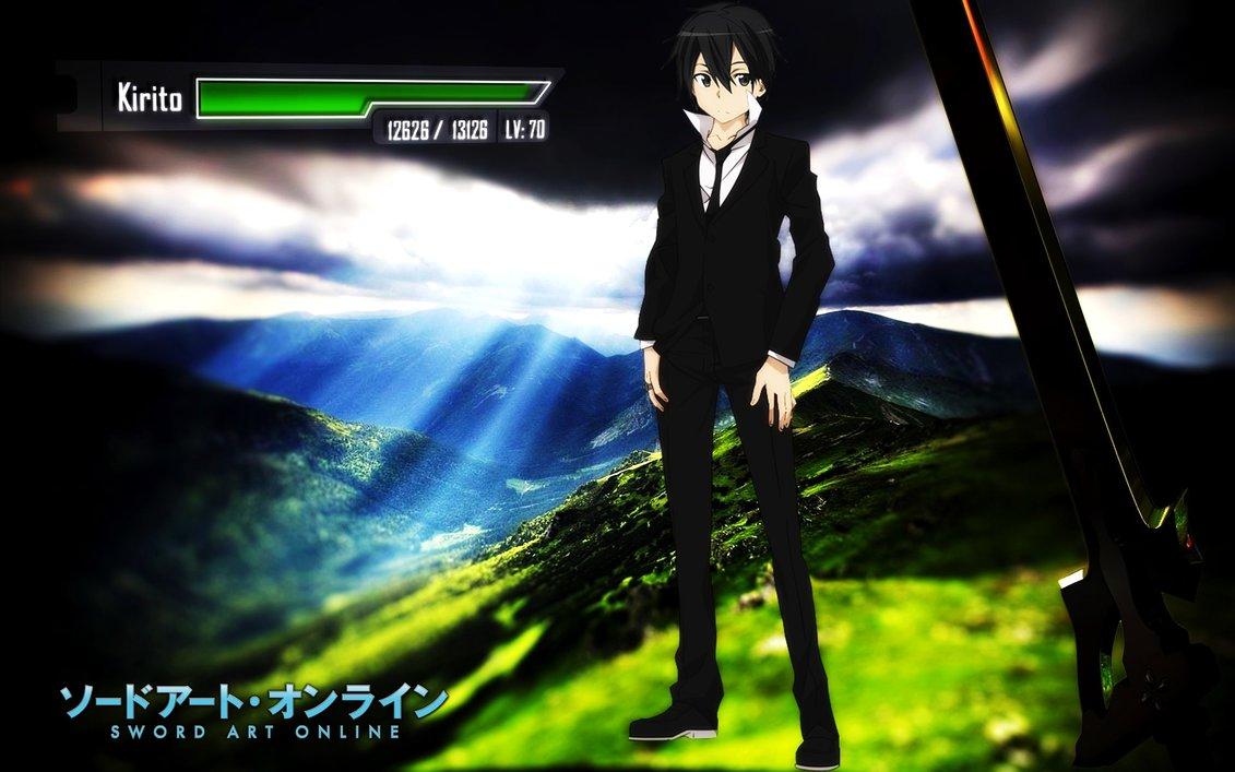 Sword Art Online Kirigaya Kazuto Wallpaper by ryu17v 1131x707