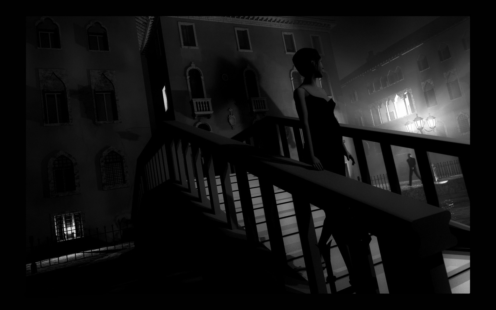 Noir Hd Wallpaper film noir wallpaper   DriverLayer Search Eng 1680x1050