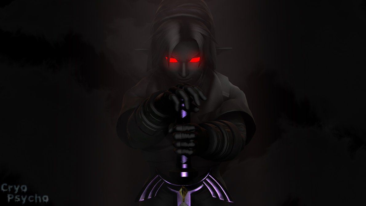 dark link wallpaper wallpaper darklink darkness evil legendofzelda 1191x670