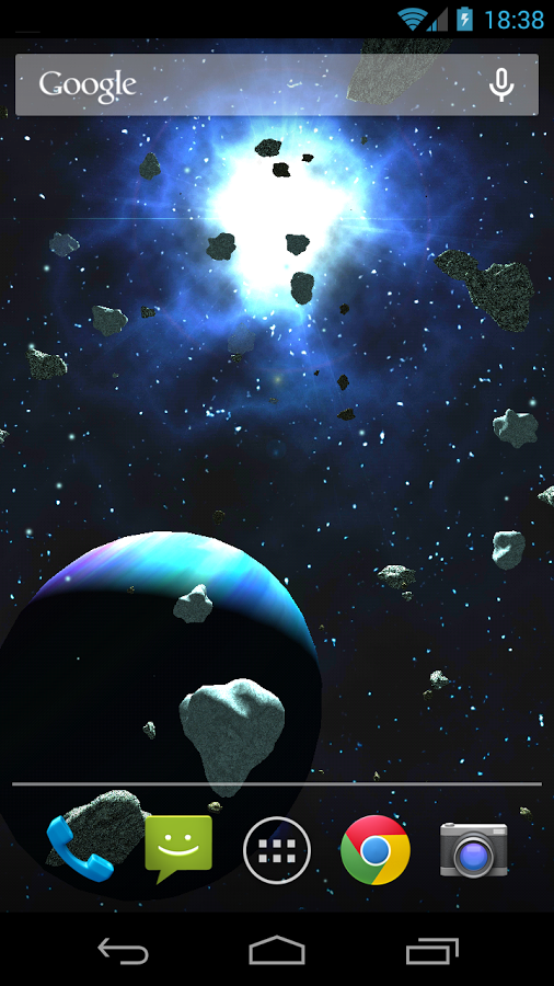 Asteroids 3D live wallpaper   Android Apps on Google Play 506x900