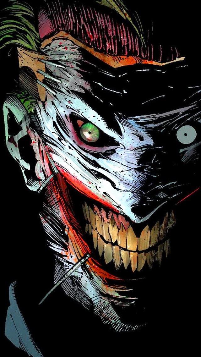 Joker Face Wallpaper - WallpaperSafari