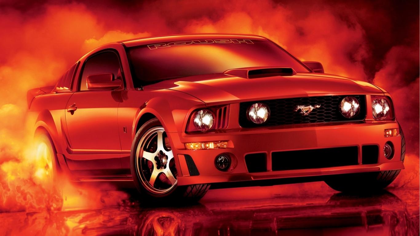 Mustang Wallpapers 6 1366x768