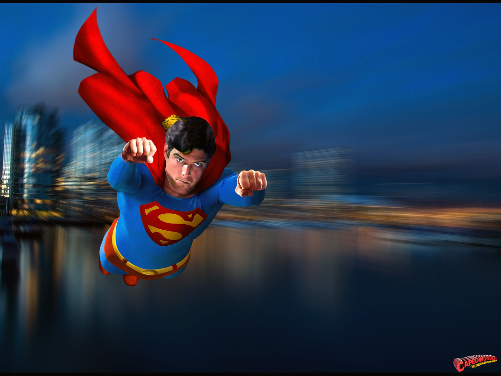 Superman   Superman The Movie Wallpaper 20439315 1600x1200