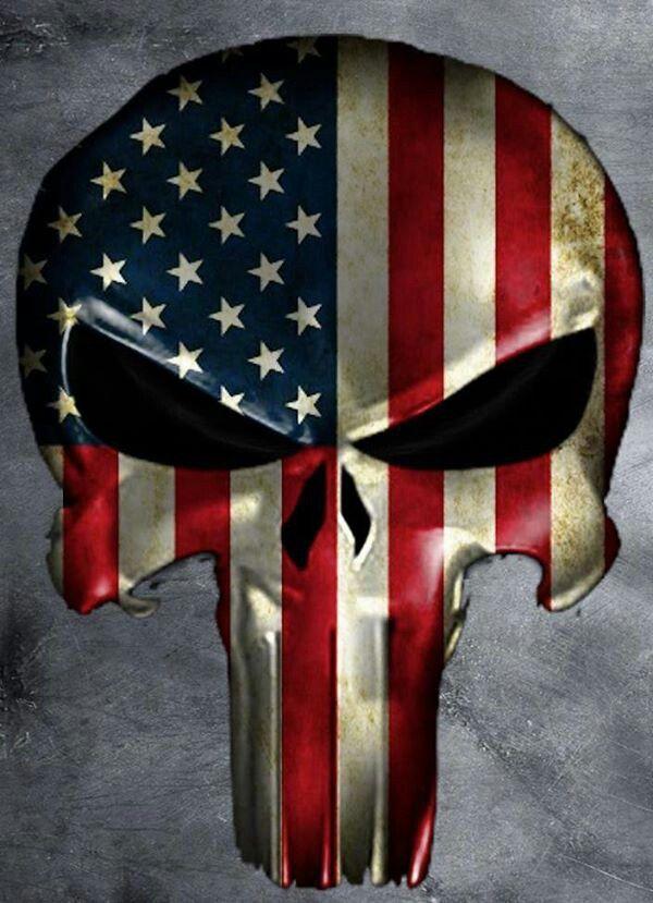 Air Pollution Skull : American flag punisher skull wallpaper wallpapersafari