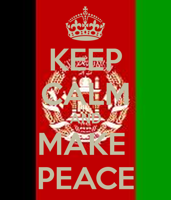 KEEP CALM AND MAKE PEACE   KEEP CALM AND CARRY ON Image Generator 600x700