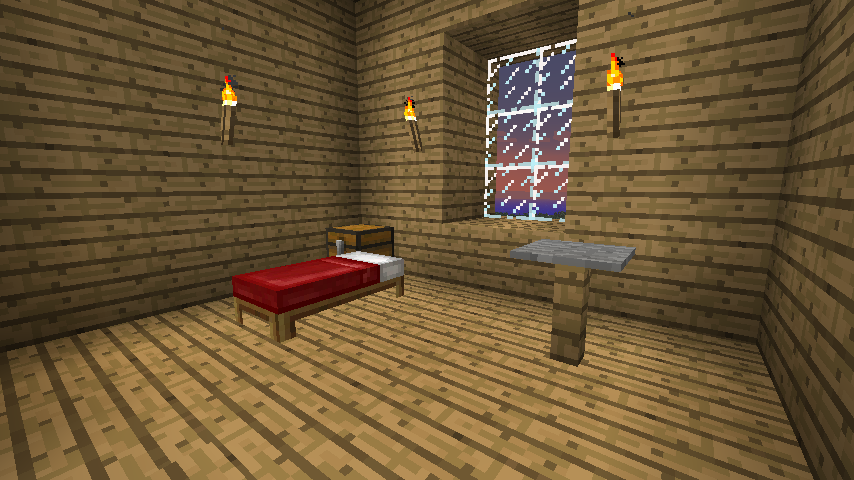 Minecraft Estate   Guest bedrooms by Aceaddo 854x480