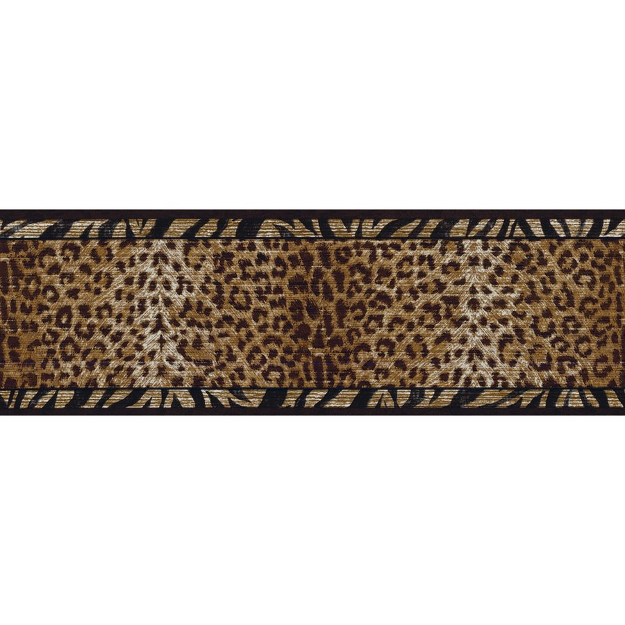 roth 6 34 Black And Gold Animal Print Prepasted Wallpaper 900x900