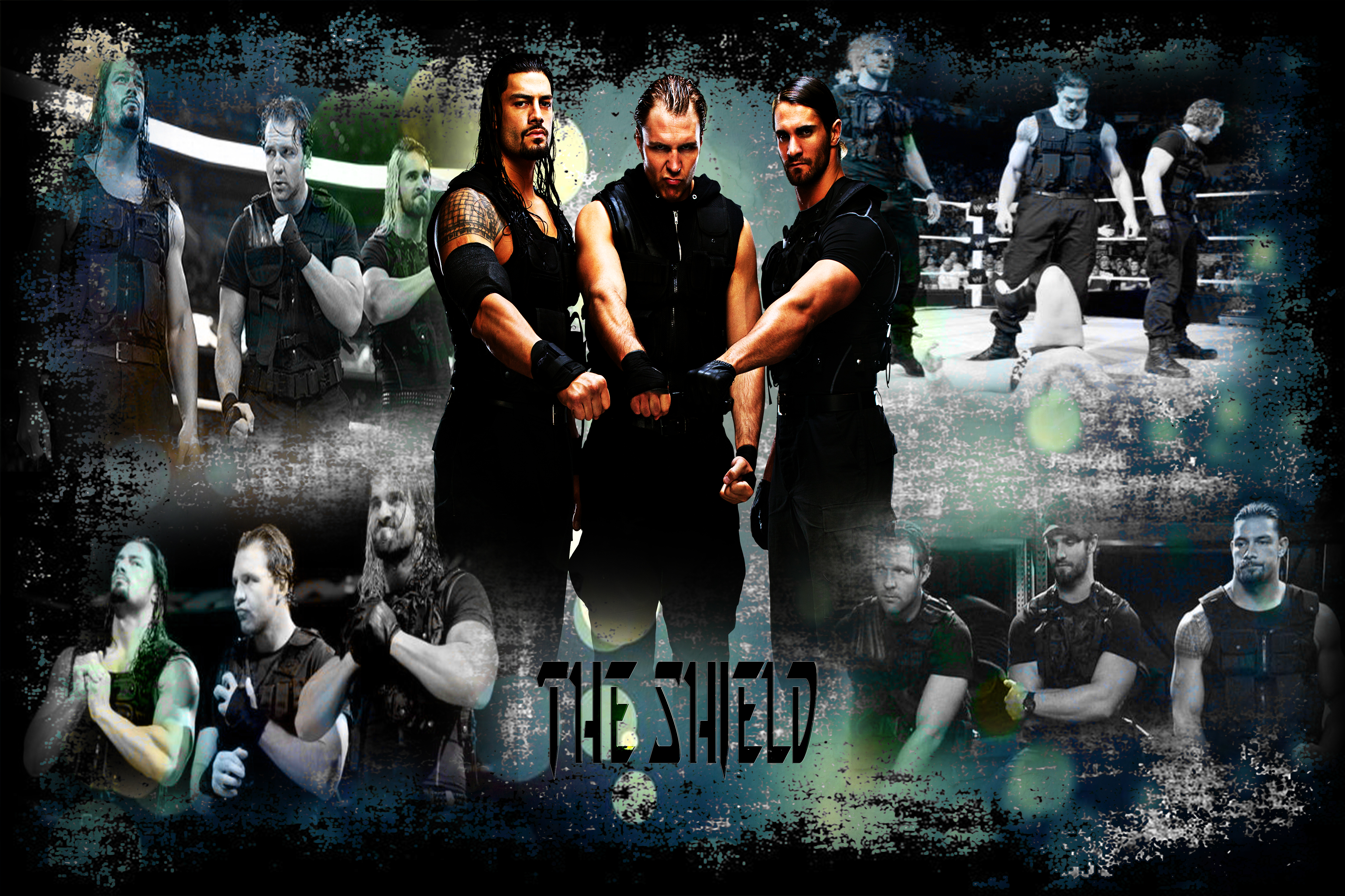 WWE '-'-The Shield'-'- - Wallpaper 2014 |Full HD| by JusttJaa on ...