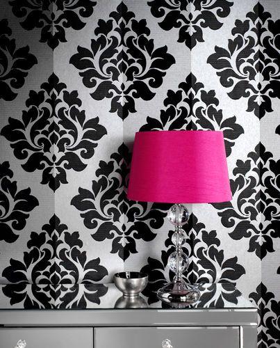 flock wallpaper Doll House Pinterest 403x500
