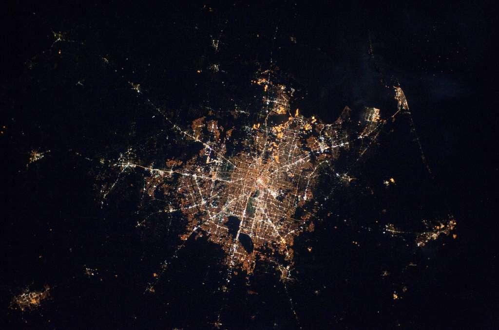 Photo Houston sige du Centre spatial Johnson de la Nasa 1024x678