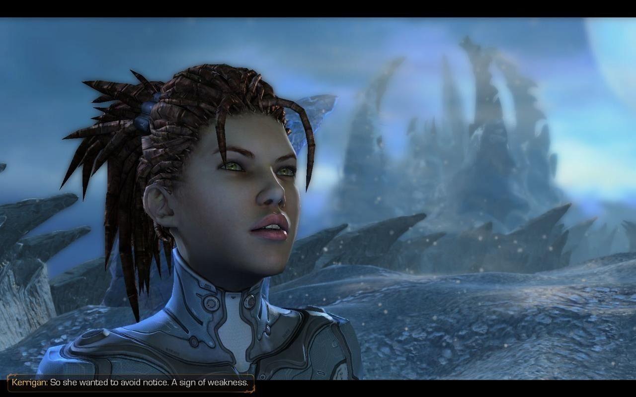 Starcraft 2 Sarah Kerrigan Wallpaper 1280x800